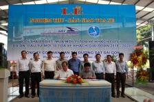 Công ty Cổ phần Vận tải Đường sắt Sài Gòn đưa vào khai thác các toa xe đóng mới thế hệ thứ 3