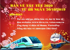 Kế hoạch bán vé tàu Tết Canh Tý 2020